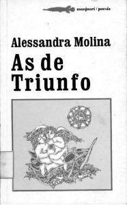 Cubierta poemario As de triunfo (2001), de Alessandra Molina