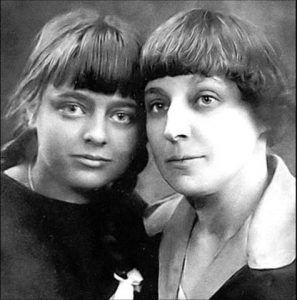 Marina Tsvietáieva y su hija Ariadna Efron (Alia)