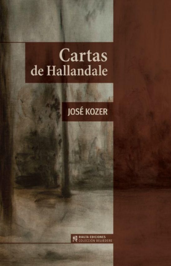 Cubierta Cartas de Hallandale, de José Kozer