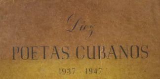 Diez poetas cubanos- cubierta
