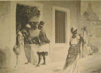 Víctor Patricio Landaluze: Mulata de rumbo, 1881