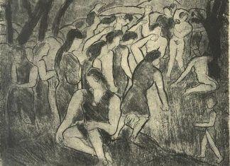 Imagen de cubierta revista Orígenes, núm. 2, 1950. Homenaje a Arístides Fernández