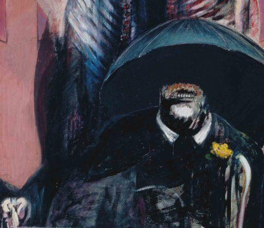 Francis Bacon, Painting (detalle), 1946. The Museum of Modern Art