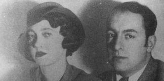 Pablo Neruda junto a María Antonieta Hageenar en Batavia, 1930
