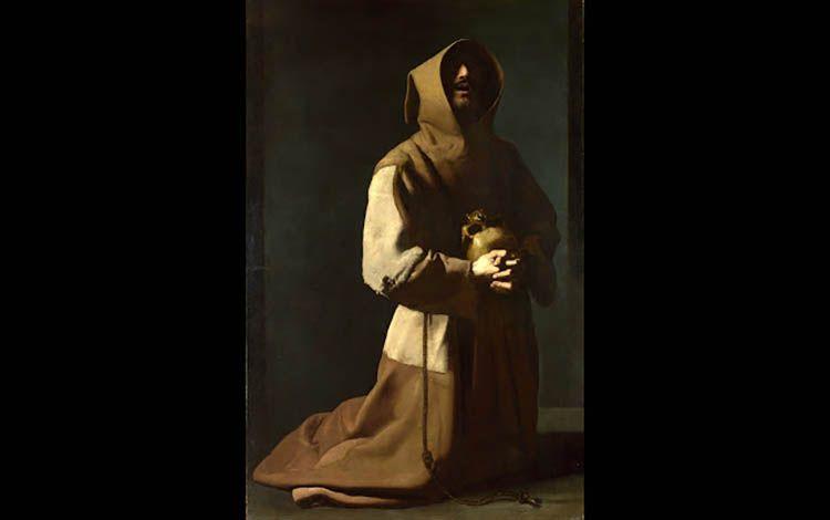 05 Francisco Zurbarán 'San Francisco de Asís' 1635 | Rialta