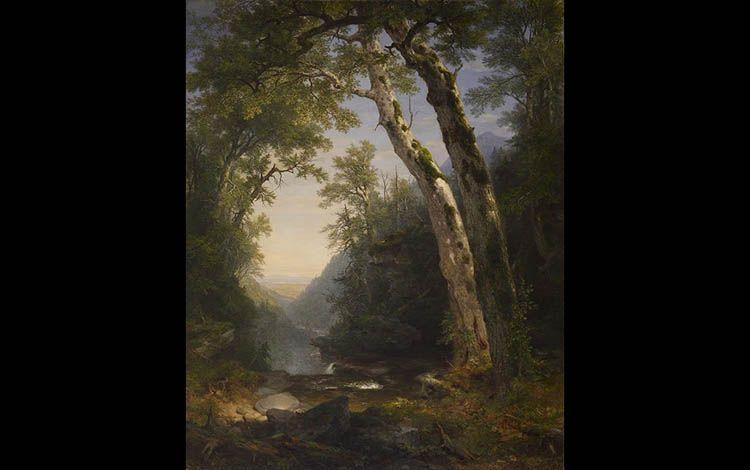 11 Asher Brown Durand 'The Catskills' 1859   Rialta