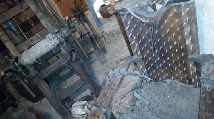 Instrumentos medievales de tortura Museo de Praga imagen cortesía del autor 2   Rialta