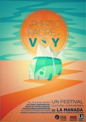cartel del festival A Puerto Padre me voy | Rialta
