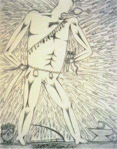 Sarabanda' José Bedia 1984 | Rialta
