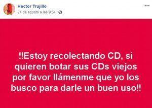 Captura de pantalla del perfil de Facebook de Hector Trujillo | Rialta