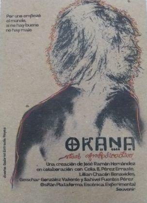 Cartel programa de mano de Okana | Rialta