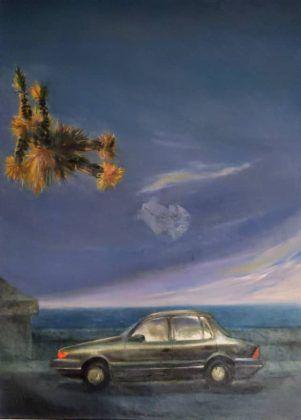 Homenaje a René Portocarrero' 1995 óleo sobre tela   Rialta