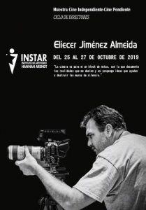 Cartel promocional de la muestra dedicada a Elicer Jiménez Almeida | Rialta