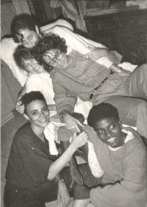 Coco Fusco con Consuelo Castañeda Zaida Del Rio y Magdalena Campos 1989 | Rialta