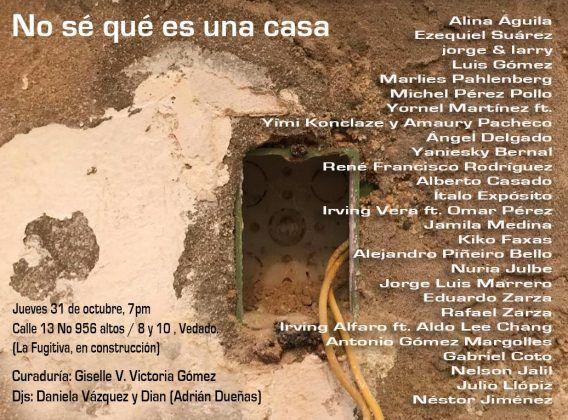 I cartel de la exposición | Rialta
