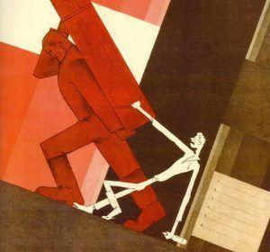 Cartel de propaganda soviética detalle   Rialta