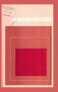 escandalar 1980 vol3 n1.pdf 1 thumb | Rialta