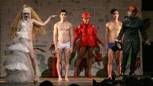 Teatro El Público durante una puesta de Antigonón | Rialta
