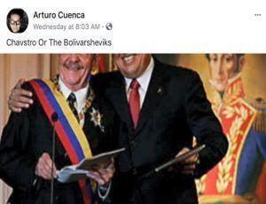 Chavstro or the Bolivarsheviks Arturo Cuenca 2016 2020   Rialta