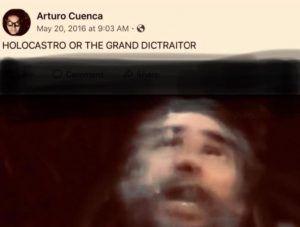 Holocastro or The Grand Dictraitor Arturo Cuenca 2012 2016   Rialta