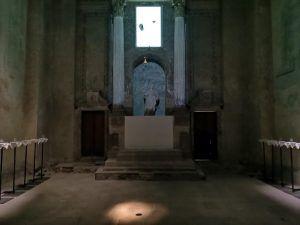 21 almas llamando' detalle Marta María Pérez Bravo 2019. Vista interior de la exposición 'Un símbolo es una verdad' en el museo Ex Teresa Arte Actual de la Ciudad | Rialta