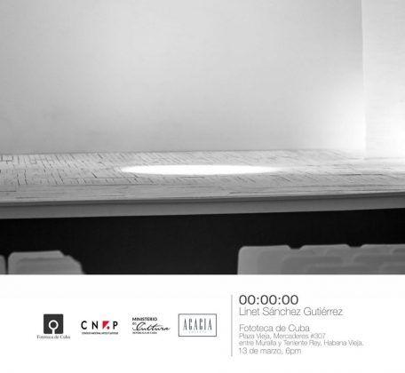 Cartel de la exposición 000000 en la Fototeca de Cuba | Rialta