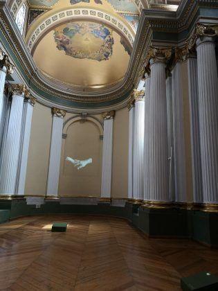 De la serie 'Días de silencio' 2019. Vista interior de la exposición en el museo Ex Teresa Arte Actual | Rialta