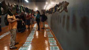 Exposición del proyecto Huellas de la memoria en la Casa de la memoria indómita Ciudad de México mayo de 2016 Foto Ileana Diéguez | Rialta
