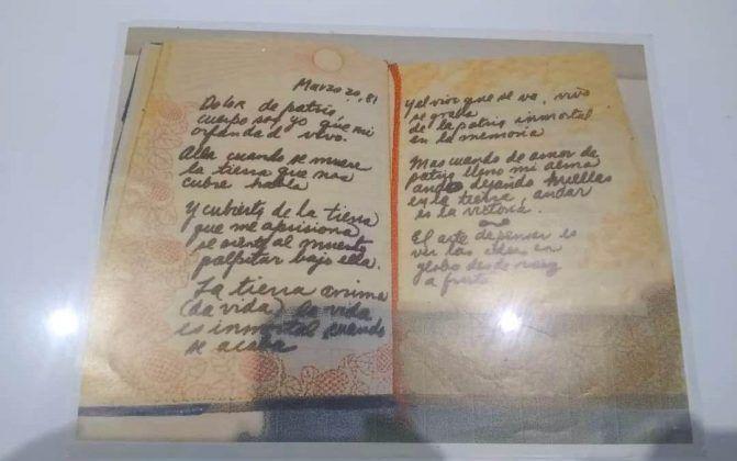 Fotografía de páginas de un diario de Ana Mendieta | Rialta