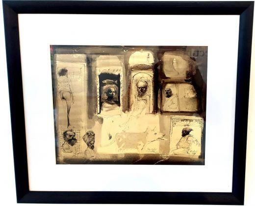 Ilustraciones para una edición de la novela 'Cien años de soledad' de Gabriel García Márquez Roberto Fabelo 1987 | Rialta