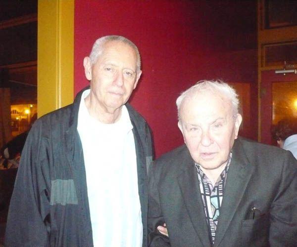 José Kozer con Lorenzo García Vega | Rialta