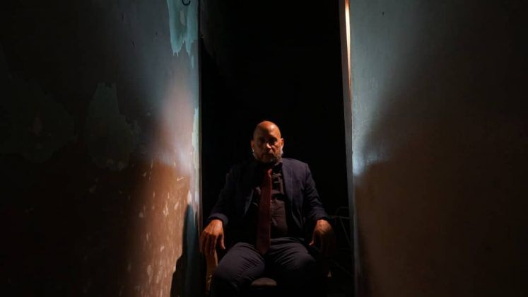 Mario Guerra interpreta a John Cabanis. Serie dramática 'Spoon River' segunda temporada Perséfone Teatro. | Rialta