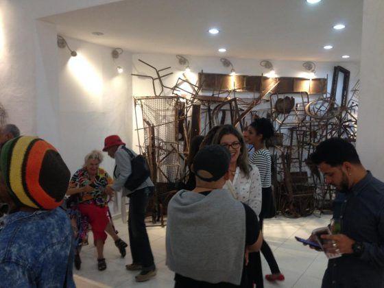 Vista de la exposición 'Landescape' de Octavio Irving en La Habana | Rialta