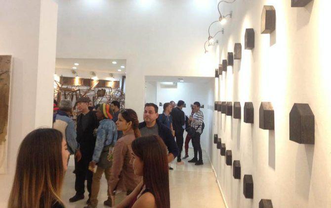 Vista de la exposición 'Landescape' de Octavio Irving en La Habana2 | Rialta