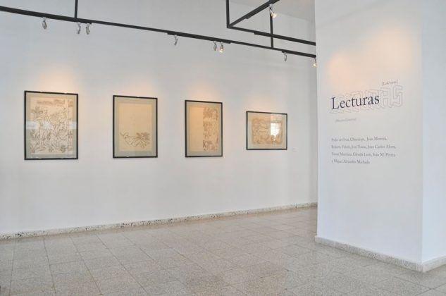 Vista de la exposición 'Lecturas' en Galería 23 y 12 en La Habana 1 | Rialta