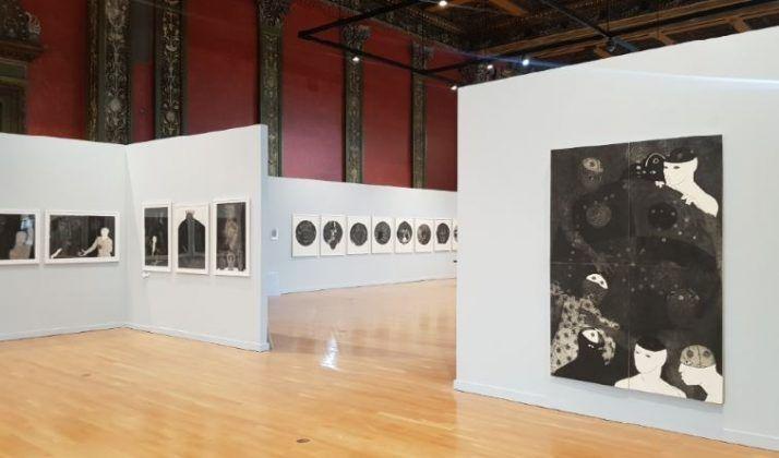 Vista de la exposición 'Nkame' de Belkis Ayón en el Chicago Cultural Center | Rialta