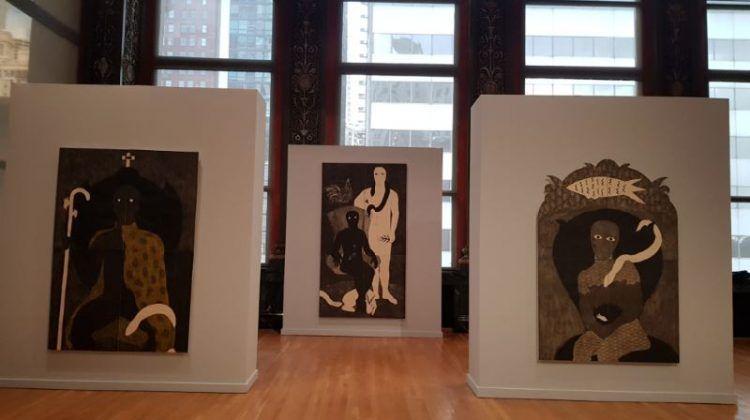 Vista de la exposición 'Nkame' de Belkis Ayón en el Chicago Cultural Center4 | Rialta