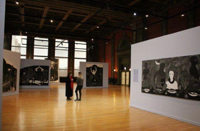 Vista de la exposición 'Nkame' de Belkis Ayón en el Chicago Cultural Center5 | Rialta