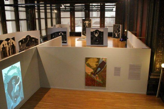 Vista de la exposición 'Nkame' de Belkis Ayón en el Chicago Cultural Center6 | Rialta