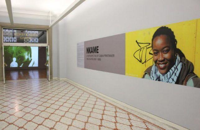 Vista de la exposición 'Nkame' de Belkis Ayón en el Chicago Cultural Center7 | Rialta