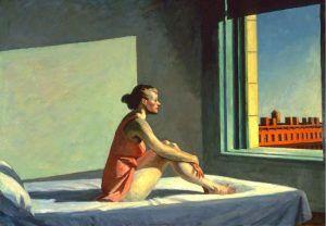 Morning Sun' Edward Hopper 1952 óleo sobre lienzo 71.5 x 101.98 cm Museo de Arte de Columbus Estados Unidos   Rialta