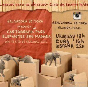 Cartel promocional de la lectura de Laura Liz en Instagram | Rialta