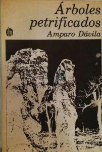 Cubierta de 'Árboles petrificados' Joaquín Mortiz 1977   Rialta
