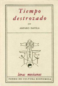 Cubierta de 'Tiempo destrozado' Fondo de Cultura Económica 1959   Rialta