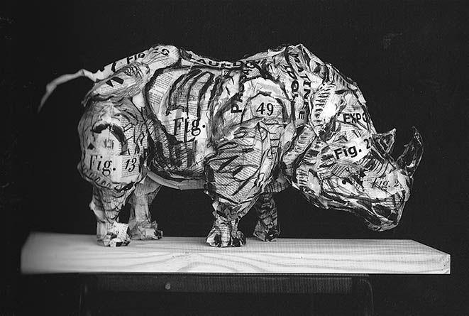 Rhino Sculpture 2007 Goodman Gallery | Rialta