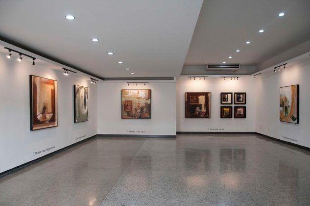 Vista de la exposición 'Como yo puedo' en Galería Galiano FOTO Maité Fernández Barroso | Rialta