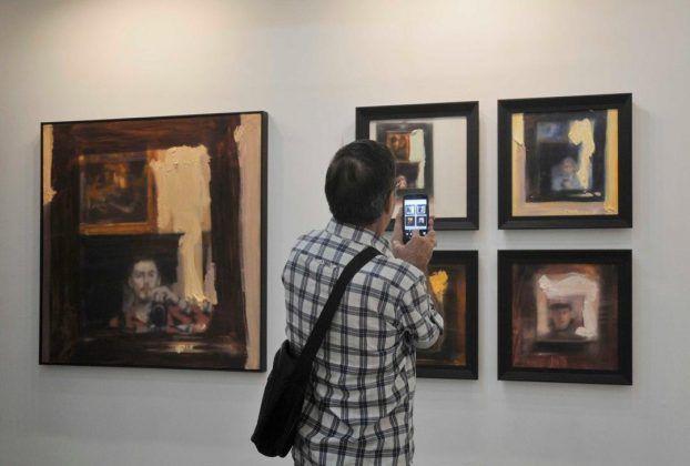 Vista de la exposición 'Como yo puedo' en Galería Galiano FOTO Maité Fernández Barroso2 | Rialta
