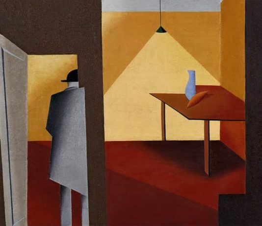 Man entering the room' detalle Niklāvs Strunke 1927 | Rialta