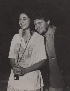 5 Molina con Mónica Sifuentes asistente de cámara en Molina s Culpa 1992 | Rialta