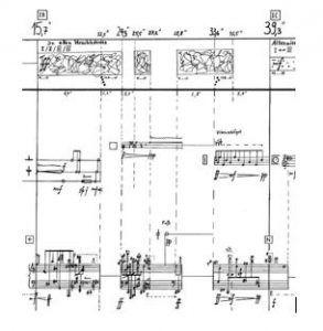 Ejemplo 4. Karlheinz Stockhausen ʽKontakte' IC IB | Rialta